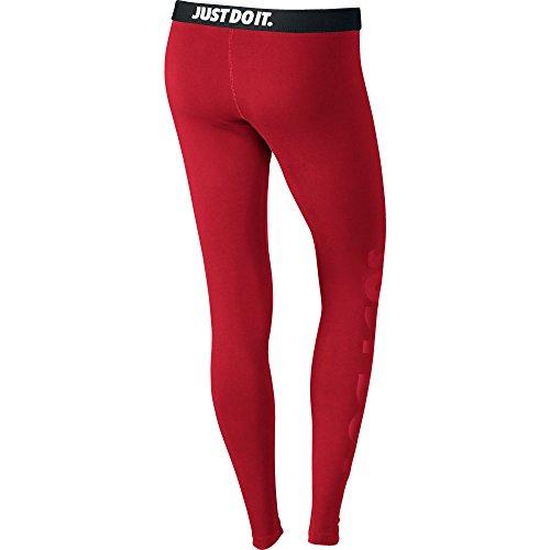 Nike Womens Leg-A-See JDI Leggings University Red/University Red 726085-657 Size X-Large