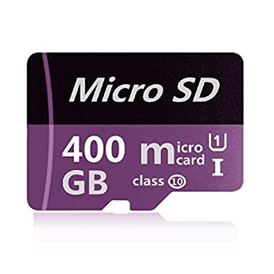 400GB Micro SD SDXC Memory Card High Speed Class 10 with Micro SD Adapter, Designed for Android Smart