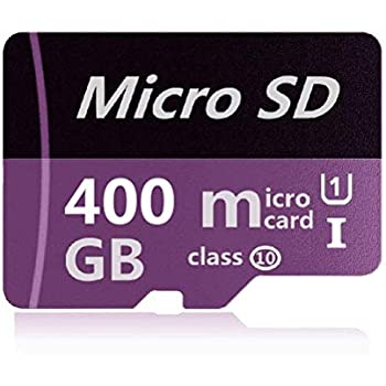 Micro SD Card 400GB High Speed Class 10 Micro SD SDXC Card with Adapter