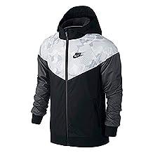 Nike Sportswear WindRunner Big Kid's (Boy's) Full-Zip Jacket 804931-013 (Small)