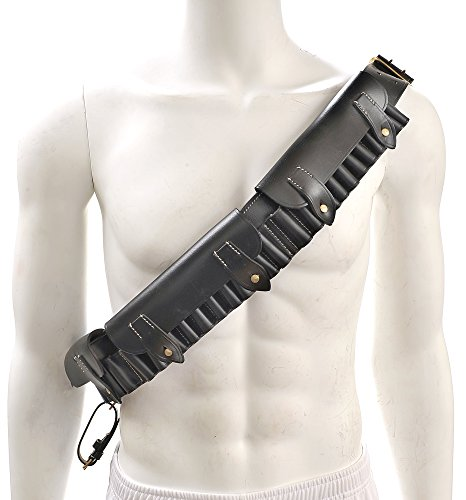 British Martini-Henry Bandolier P-1882 Black Leather (British Bandolier compare prices)