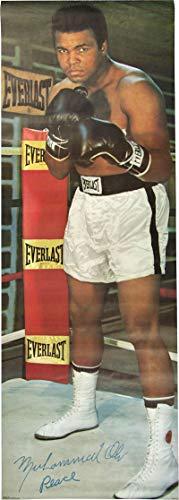 Muhammad Ali Facsimile Signed Autographed 1973 24x71 Original Poster