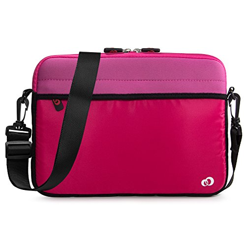 Kroo 12-13.3 Inch Inch Laptop Sleeve Tablet Bag, Water Resistant Neoprene Notebook Computer Carrying Cover for Apple MacBook, Microsoft Surface, Chromebook (Kroo Carrying Case)