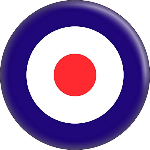 Mod Ska Target - Red White and Blue - 1
