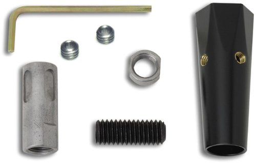 Lokar XSK-6878 Black Shift Knob Adapter for 3/8-16 Knob by Lokar
