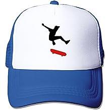 2 Color - Skateboarding Graffity Skatepunk Big Foam Trucker Baseball Cap Mesh Back Adjustable Cap