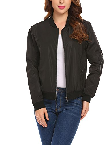 Cotton Blend Bomber Jacket - 7