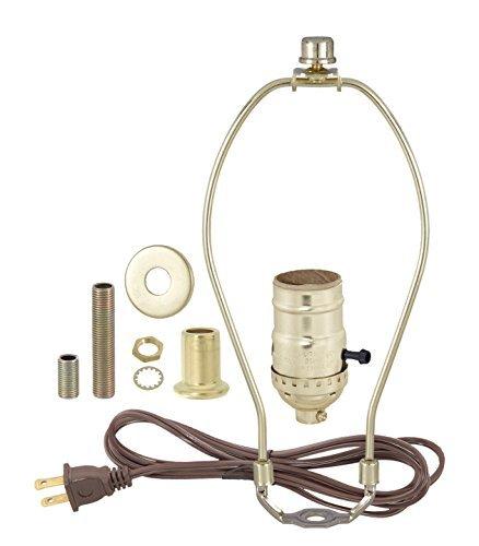 Lamp-making Kit - Electrical Wiring Kit to Make or Refurbish Vintage Lamps