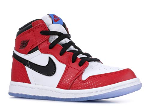 Nike Jordan 1 Retro HIGH OG (TD) 'Spiderman' - AQ2665-602, used for sale  Delivered anywhere in Canada