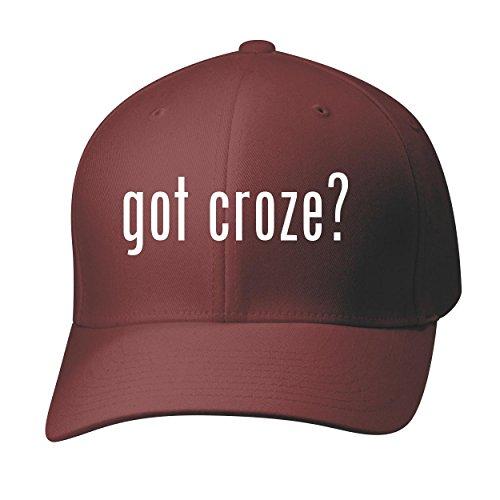 Croze Hermitage (BH Cool Designs Got croze? - Baseball Hat Cap Adult, Maroon, Small/Medium)