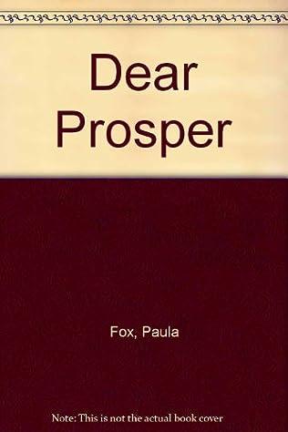 book cover of Dear Prosper