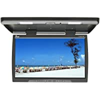 Tview T244IR-BK 24-Inch Car Flip Down Monitor (Black)