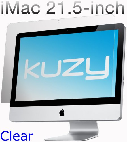 Kuzy - Clear Screen Protector Filter for 21.5 inch iMac Desktop Display 21 Model: A1311 and A1418 - CLEAR KZYClSpiMAC21Clr