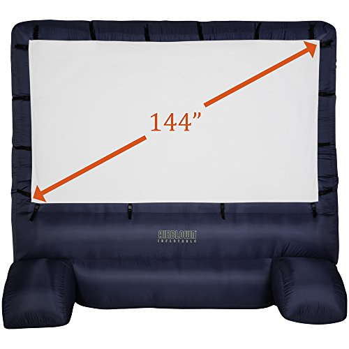 60% Off Gemmy Deluxe Airblown Movie Screen Inflatable