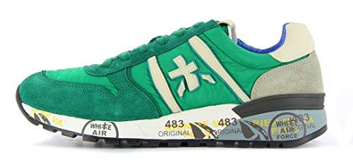 LANDER2181 Premiata Sneaker Verde 44 Uomo