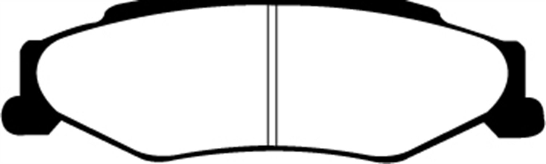 EBC Brakes DP31160C Redstuff Ceramic Low Dust Brake Pad