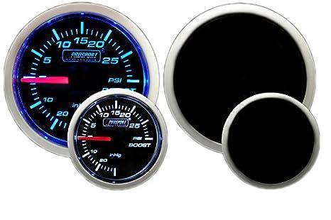 Prosport Performance Series Gauge (Oil Temperature Gauge (Electric) w Sender, Amber White 52mm)