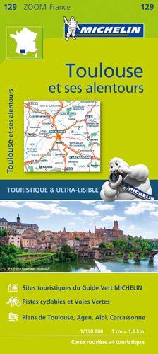 Toulouse & surrounding areas - Zoom Map 129 Michelin Zoom Maps: Amazon.es: Michelin: Libros en idiomas extranjeros