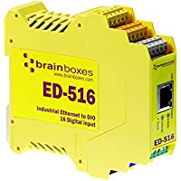 BRAINBOXES LTD Brainboxes Ltd Ed-516 Ethernet To 16 Digital Inputs