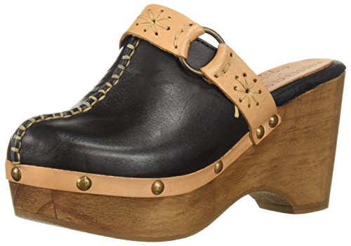 Musse & Cloud Womens Evita Clog Nero