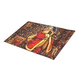 Orianaa shushing Santa collection Doormat