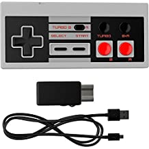 Ortz NES Classic Edition Mini Controller [TURBO EDITION] Rapid Buttons for Nintendo Gaming System [Nintendo NES] (Wireless)