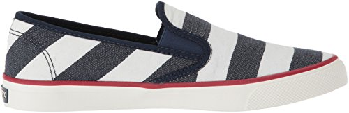 Sperry Shoes White Seaside Women's Stripe Breton Navy CRqACx0