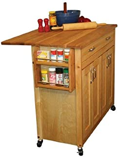 product image for Catskill Craftsmen Butcher Block Workcenter PLUS with Drop Leaf