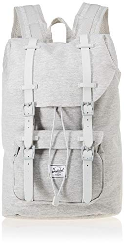 Herschel Supply Co. Little America Mid-Volume Backpack, Light Crosshatch/Grey Rubber, One ()