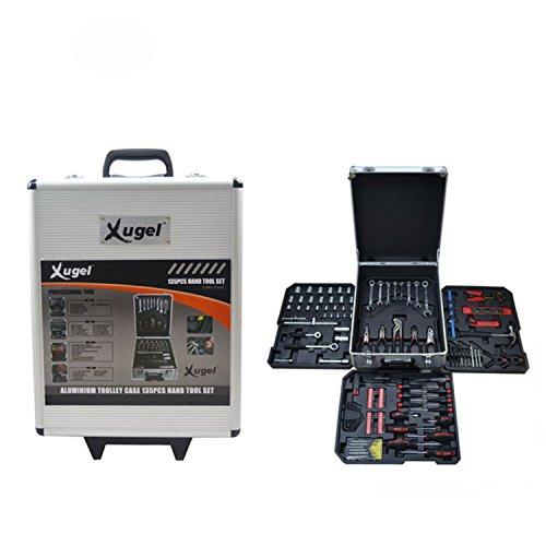 Deko AGJTZ135 Hot Portable Trolley Case Hand Tool Set, 13...