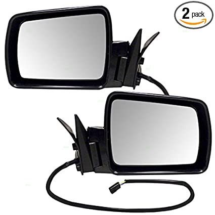 Power Mirror for Jeep Comanche Wagoneer Cherokee Passengers Side View 55075432
