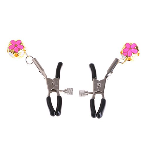 Kocome-Ladys-Adjustable-Nipple-Clips-Clamps-with-2-Bells