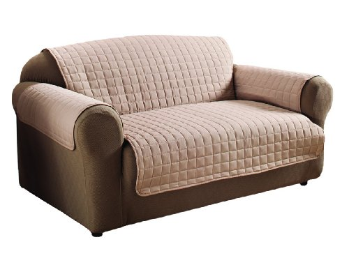 Amazon.com: Innovative Textile Microfiber Loveseat Furniture Protector,  Natural: Home & Kitchen - Amazon.com: Innovative Textile Microfiber Loveseat Furniture