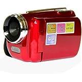 "SODIAL(R)12MP camescope numerique mini DV camescope 1.8 ""TFT LCD 4xZoom sortie TV fonction rouge"