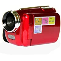 CAMCORDER - SODIAL(R) 12MP Mini Digital Video Camera DV Camcorder 1.8 TFT LCD 4xZoom TV out function Red