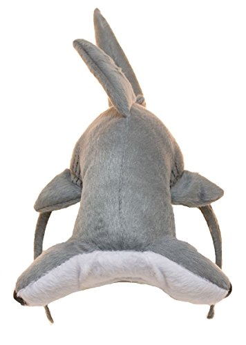 Jacobson Hat Company Unisex-Adult's Hammerhead Shark Headband, Gray, Adjustable for $<!--$15.99-->