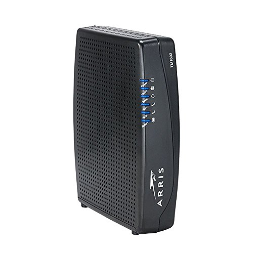 Arris Touchstone TM1602A DOCSIS 3.0 Upgradeable 16×4 Telephony Modem for TWC & OPTIMUM