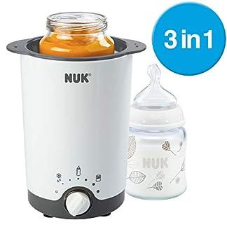NUK Thermo 3 in 1 Flaschenwärmer, zum einfachen, sicheren und schonenden Erwärmen, Auftauen und Warmhalten, für Gläschen und Flaschen 2