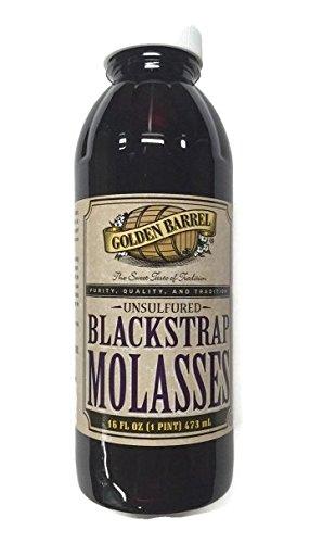 Golden Barrel Blackstrap Molasses (12/16 fl. oz. Narrow Mouth Case)