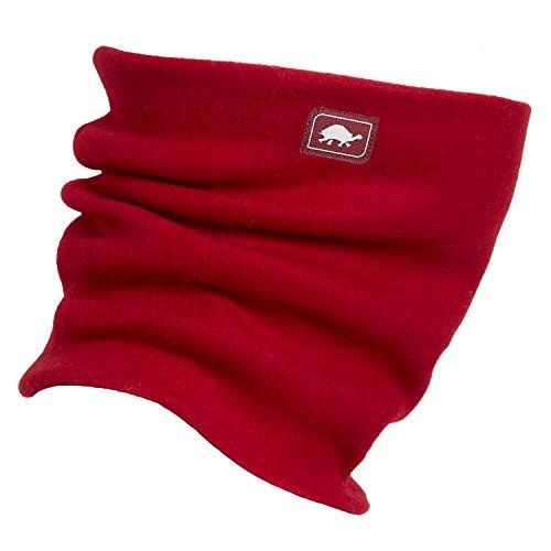 Original Turtle Fur Fleece - The Turtle's Neck, Heavyweight Neck Warmer, Red by Turtle Fur