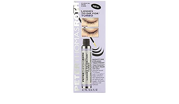 Amazon.com : Peter Thomas Roth Lashes To Die For Turbo Nighttime Eyelash Treatment : Beauty