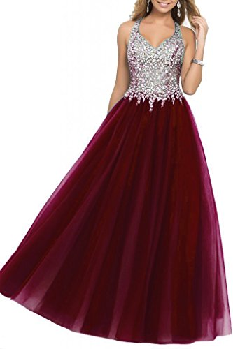 embellished bodice prom dress - 3
