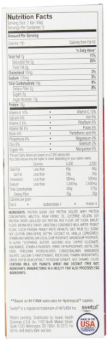Hydroxycut Lean Protein Bars, Chocolate Peanut Butter Caramel, 5 X 1.7 oz Bars, Only 190 Calories, 18g of Protein, Only 2 g of sugar, Delicious