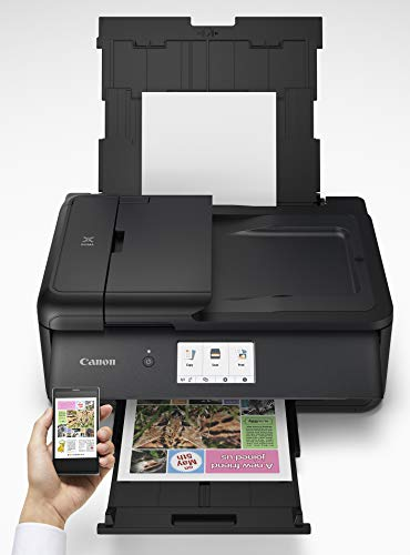 Canon PIXMA TS9520 Wireless Photo All In one Printer | Scanner | Copier | Mobile Printing with AirPrint and Google Cloud Print, Black by Canon (Image #4)