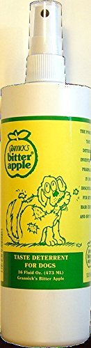 Pets 16 Ounce Bottle (Grannick's Bitter Apple for Dogs Spray Bottle, 16)