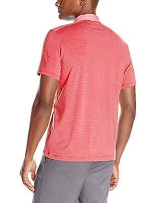 Calvin Klein Men's Performance Core Short-Sleeve Grindle Feeder Polo Shirt