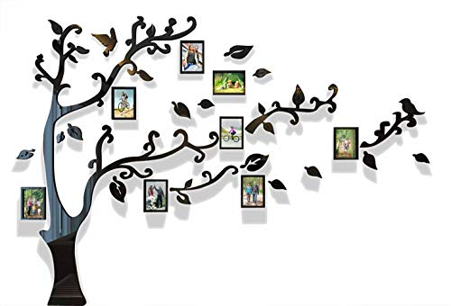 Cheap  3d Picture Frames Tree Wall Murals for Living Room Bedroom Sofa Backdrop..