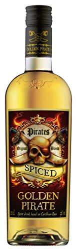 Golden Pirate Spiced Rum 32% 1,0l mit echtem Karibischen Rum