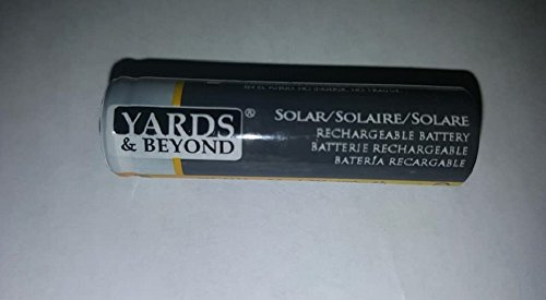 Rechargeable Solar Batteries NI-MH 1.2V AA 400mAh ( QTY of 10)