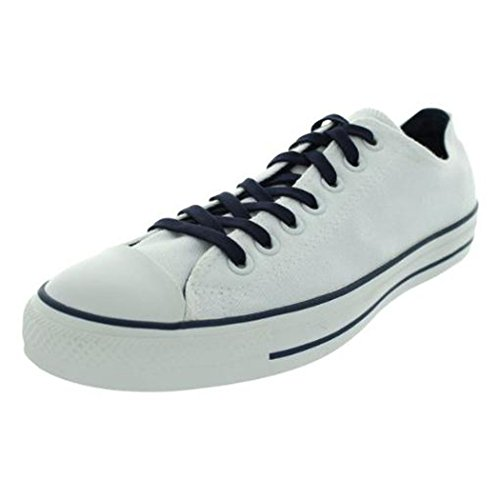 Converse Unisex Shoes All Star Low White/Blue Fashion Sneaker (8.5 MENS / 10.5 WOMENS) rmCPw3